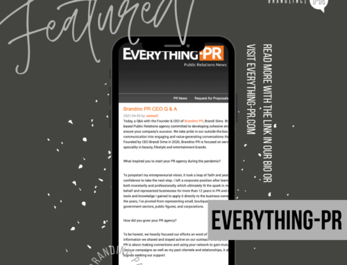 Featured on Everything-PR