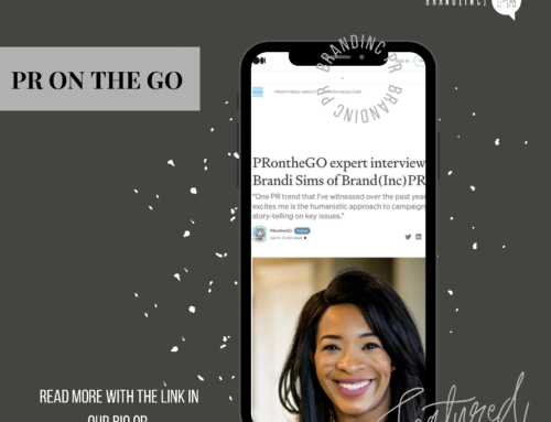 BIPR Feature— PR ON THE GO