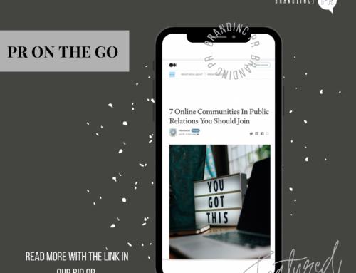 BIPR PR Feature PR On The Go